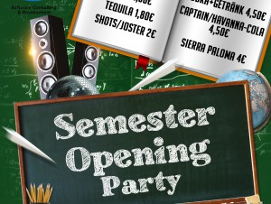 08.10.2015 Aim Semester Opening Party WS 15/16