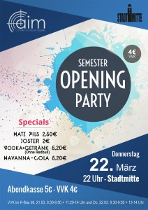 Semester Opening Party SS18