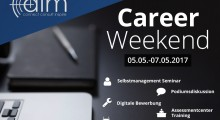 Career Weekend 2017 – 05.05.2017 – 07.05.2017