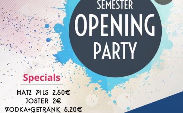 Aim Semester Opening Party – 11.10.2018