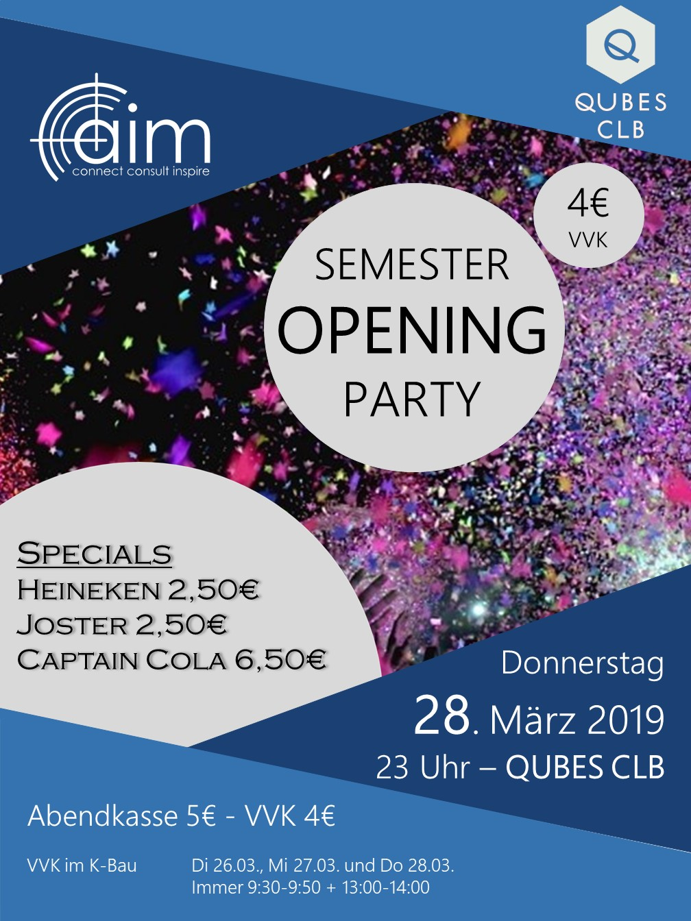 Semester Opening Party WS18/19