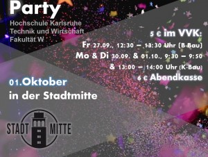 Aim Semester Opening Party WS 2019/20